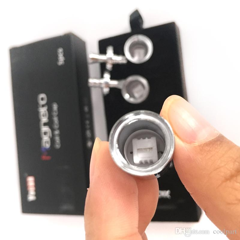 Auténtico Yocan Magneto bobinas bobinas de cera de cerámica bobinas con moderna conexión magnética Dab Tool Boil Cap incluido