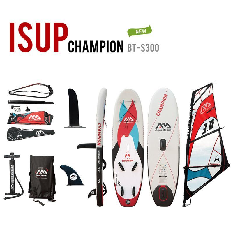 611a081b8 Compre Aqua Marina Inflável SUP Windsurf SUP WindSUP Prancha De Surf Inflável  Stand Up Paddle Surf Board De Bingquanwat