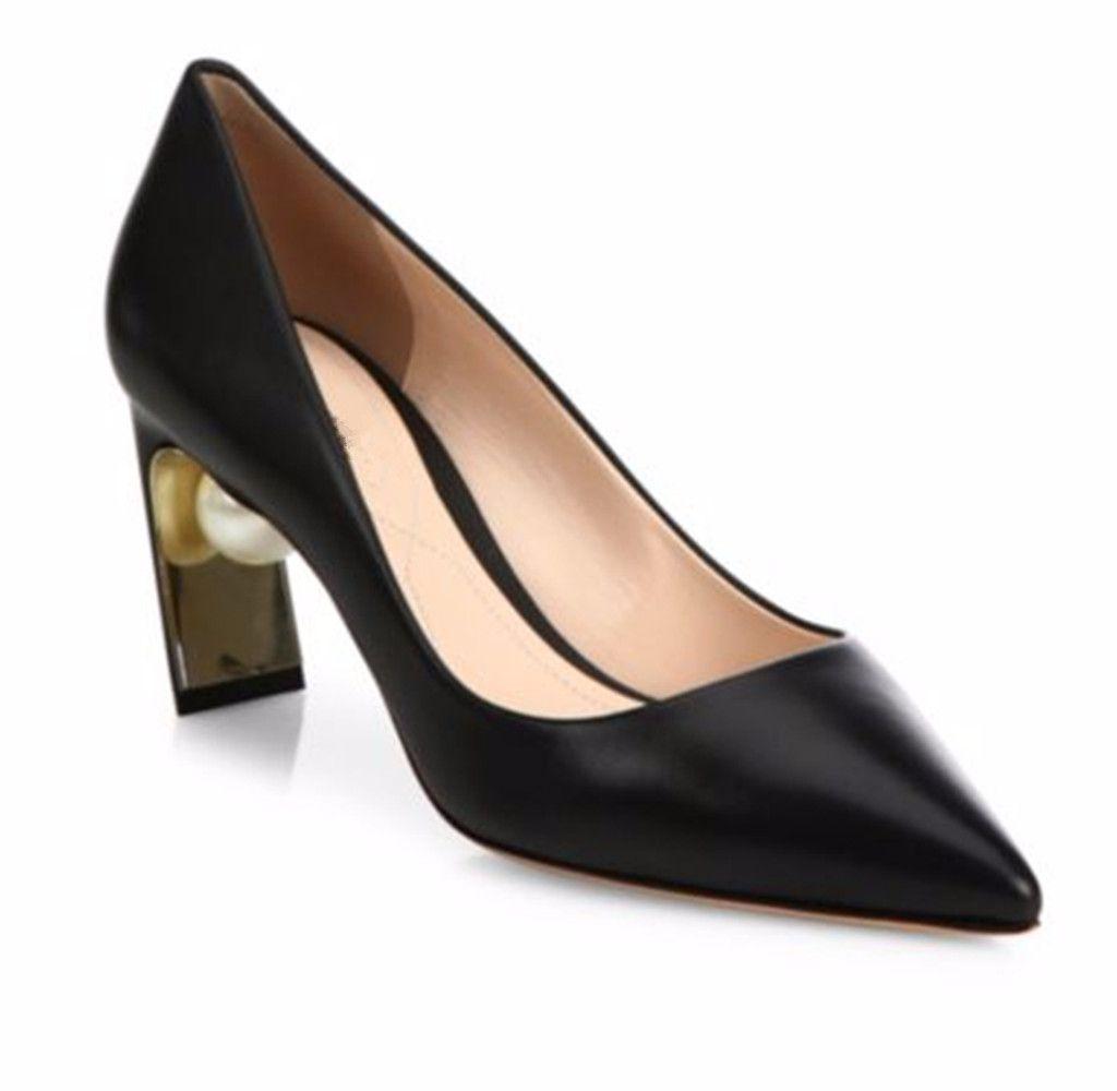 Inci Topuklar Kadın Elbise Ayakkabı Pompaları 2018 Bahar Sonbahar Yüksek Topuklu Düğün Ayakkabı Pompalar Puanl Sivri Burun Parti Ayakkabı Pompaları Size35-40