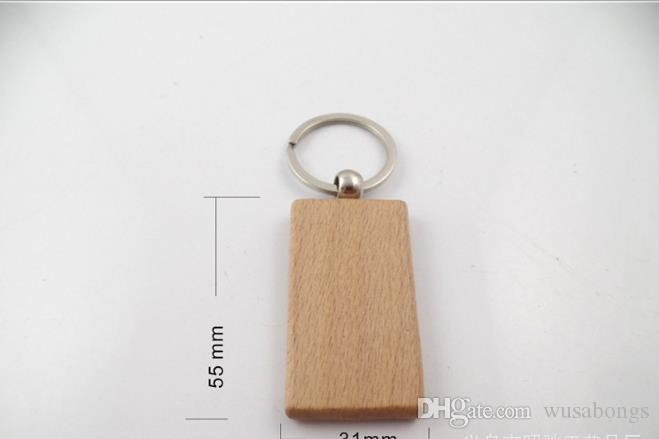 나무 키 버클, 자리 나무 작은 펜 던 트, 너도 밤나무 키 체인.