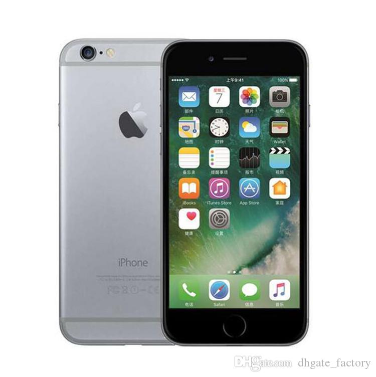 100% Original 4.7inch 5.5inch iPhone 6 iphone6 Plus IOS 8.0 MP Camera 4G LTE With Touch ID Unlocked Refurbished Cell Phones In Stock