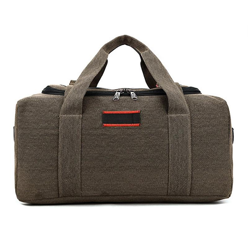 29746d342e74 2018 NEW Large Capacity Canvas Travel Totes Men Bags Leather ...