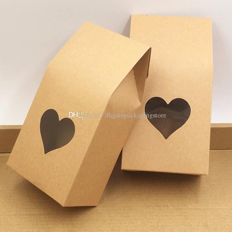 8*16+5cm Kraft Paper Gift Bags for Party/Wedding Cake/Chocolates ...