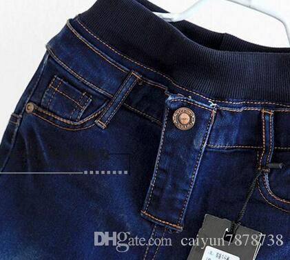 Hot 2018 spring autumn children's clothing boys baby jeans children trousers pants wholesale retail 4-12 years old