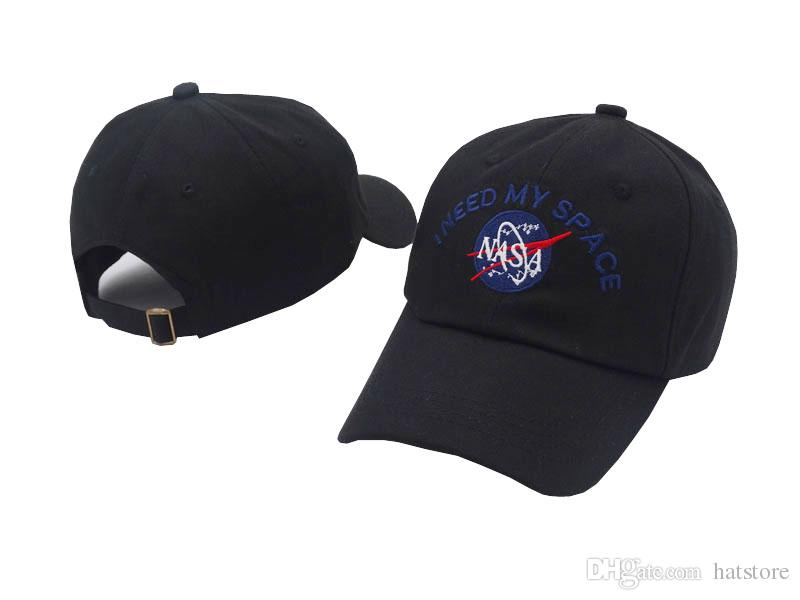 Nasa I Need My Space Curved Snapback Caps Baseball Hats For Men Women DEUS  Casquette Hats Adjustable Ball Caps Sun Hat Many Styles Flat Caps For Men  Womens ... 1e68460416