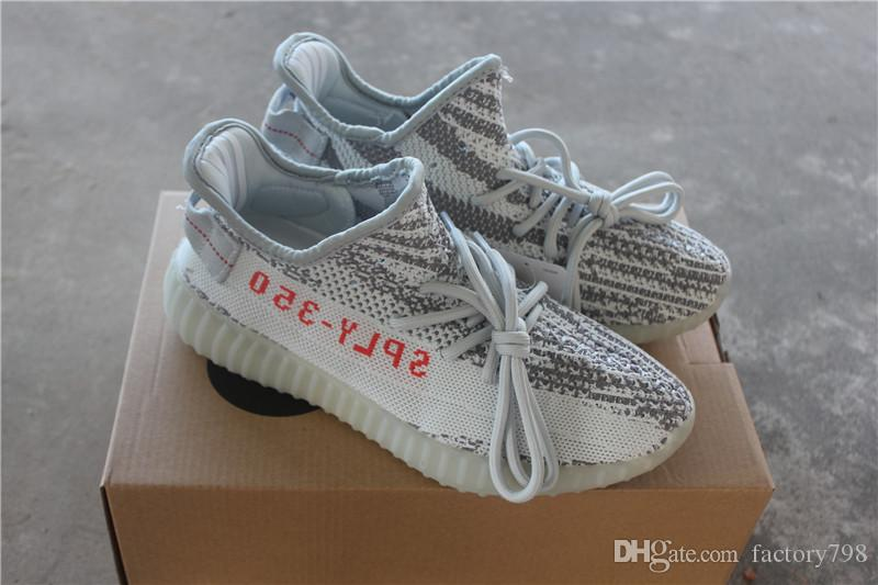 3a0a3bee1e0c7 Cheap Sply 350 V2 Static Butter Beluga 2.0 Blue Tint Cream White Bred Zebra  Men Women Kanye West Running Shoes Designer Sneakers 36-45