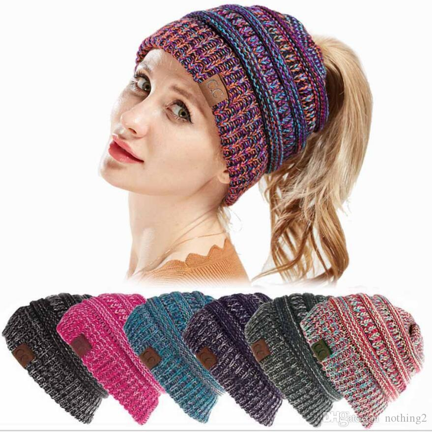 Designer Hats Baseball Cap For Winter Women Open Teiled Mix Color Hat  Woolen Hat Warm Hot Fashion Free Of Shipping Richardson Hats Headwear From  Nothing2 67d9b0d8a90