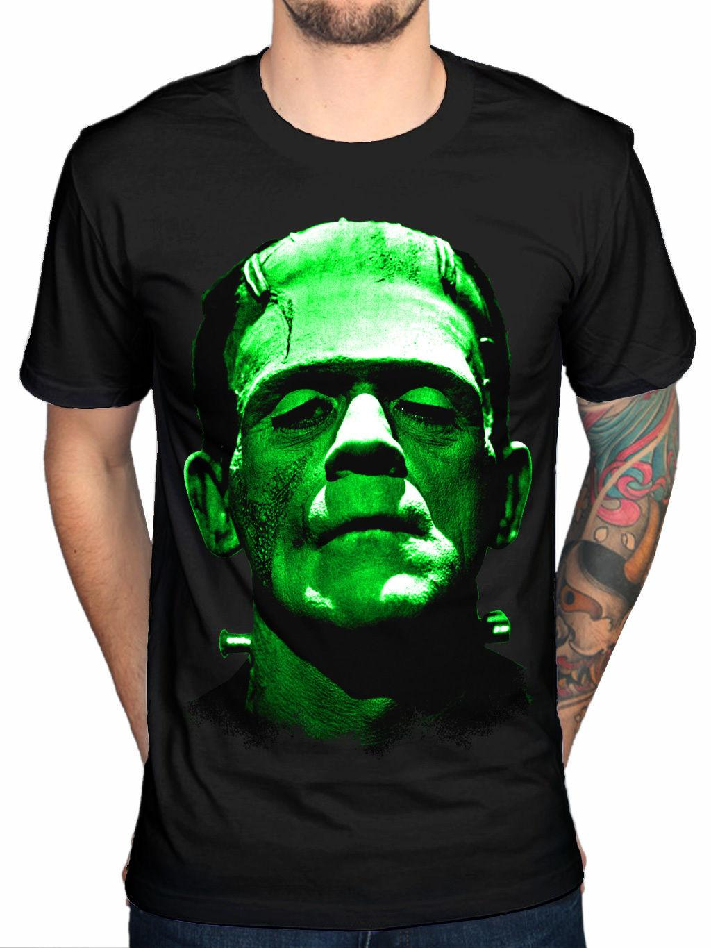 Official Plan 9 Frankentein New Unisex Graphic T-Shirt Merchandise Mens Black O-Neck T Shirt Top Tee Basic
