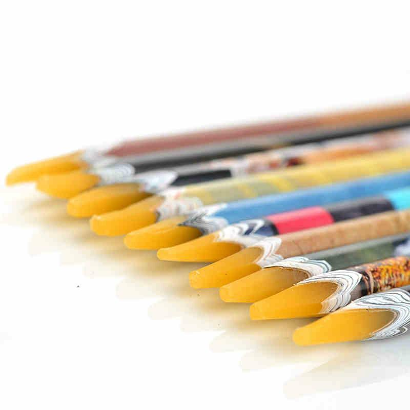 Brand Wax Pencil Nail Art Rhinestones Gems Picking Tools Nail Art