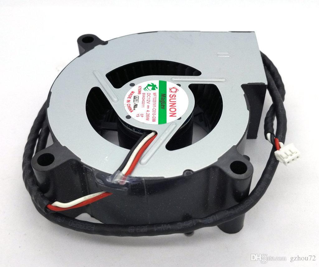 New Original SUNON MF70251V1-C010-G99 DC12V 4.26W 70 * 25MM 3 Lignes Tachymètre Signal pour ventilateur ventilateur de refroidissement du projecteur