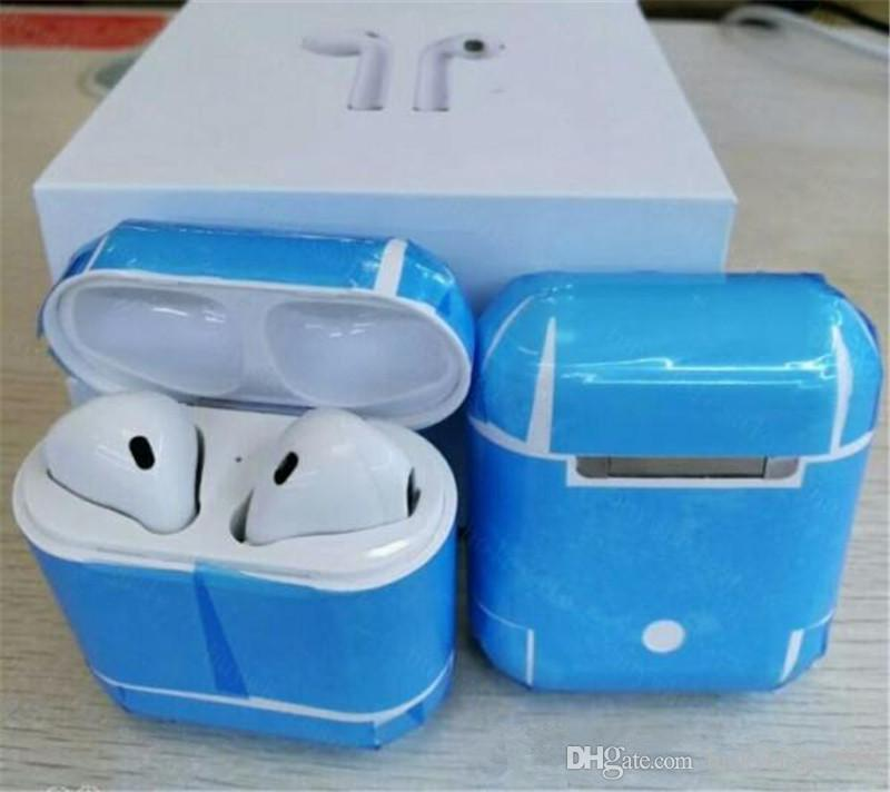 Cheap Afans TWS Bluetooth Earphone Wireless Earbuds In-Ear Headset Mini Earpiece Handsfree With Mic With Charging Box for IOS Android Phone