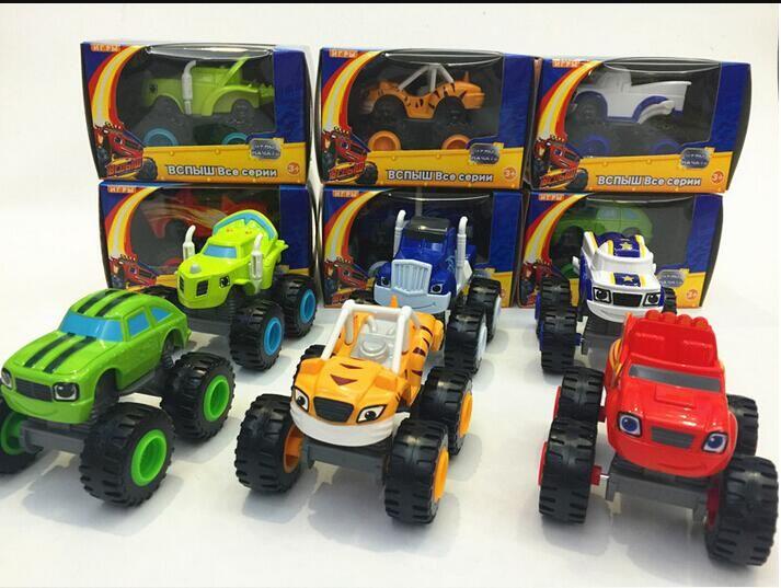 Children S Toy Car And Monster Cars Machines Super Stunts Blaze Kids