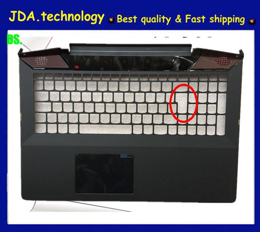 New/Original Palmrest topcase for Lenovo IdeaPad Y700 Y700-15 Y700-15ISK UK  keyboard bezel Upper cover shell TOUCHPAD