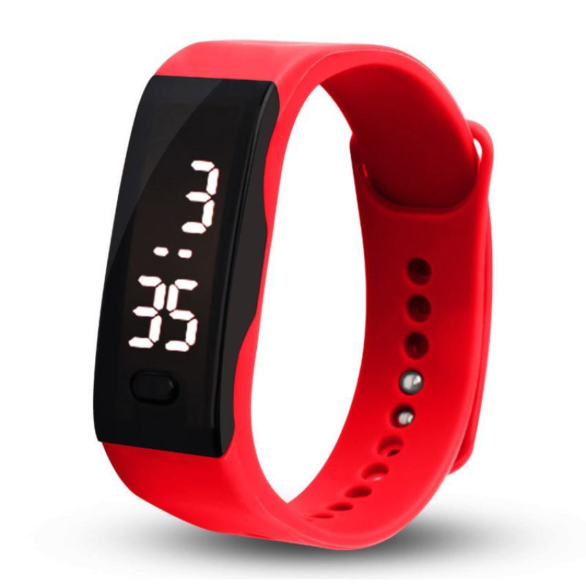 Watches Sport Men Women Digital Bracelet Watches Ladies Fitness Led Wristband Watch Boys Girls Casual Electronic Clock Relogio Saati Cc