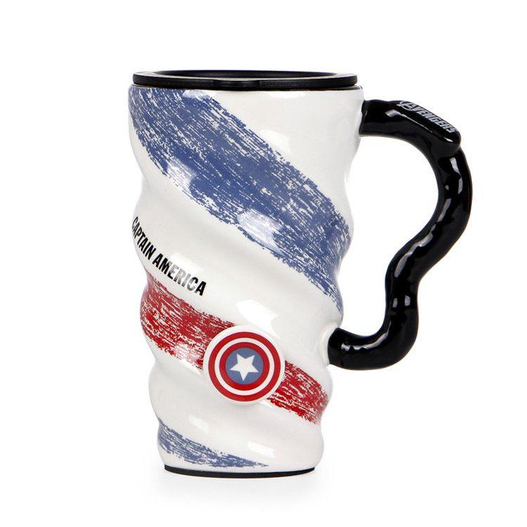 4 Diseños Marvel Avengers Infinity War Cups ventosas con doble aislamiento Superhero Thanos Acero inoxidable Niños botellas de agua Tazas T1I572
