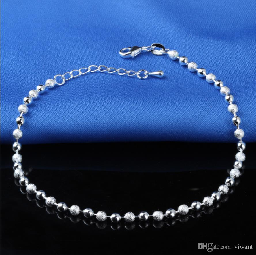 Anklets Boho Style Anklets Multi Layer Chain Simulated Pearl Beads Charm Anklets Foot Chain for Women Wholesale