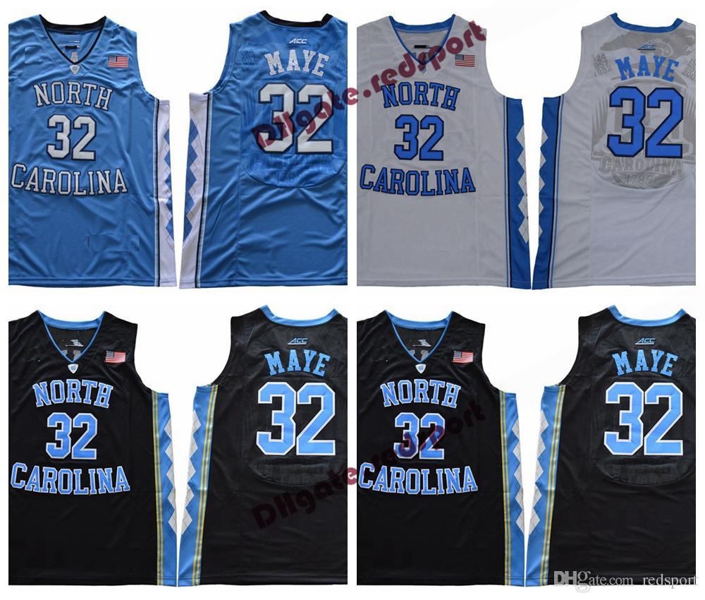 4b498c2da Acheter 2018 North Carolina Tar Talons Luke Maye College Jersey Pas Cher 32  Luke Maye University Basketball Maillot Stitched Jersey De  21.11 Du  Redsport ...