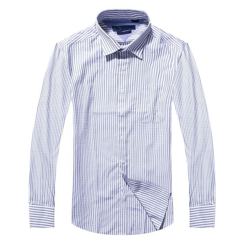 2018 جديد رجل ثوب قميص عارضة العلامة التجارية الملابس أزياء Camisa الاجتماعية الرجال القميص كم طويل حك Camisa الغمد