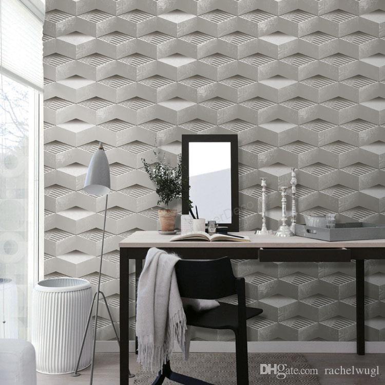 Hot sale Modern Design waterproof Wallpaper Vintage Wallpapers Home Decor Living Room 3D Wallpaper