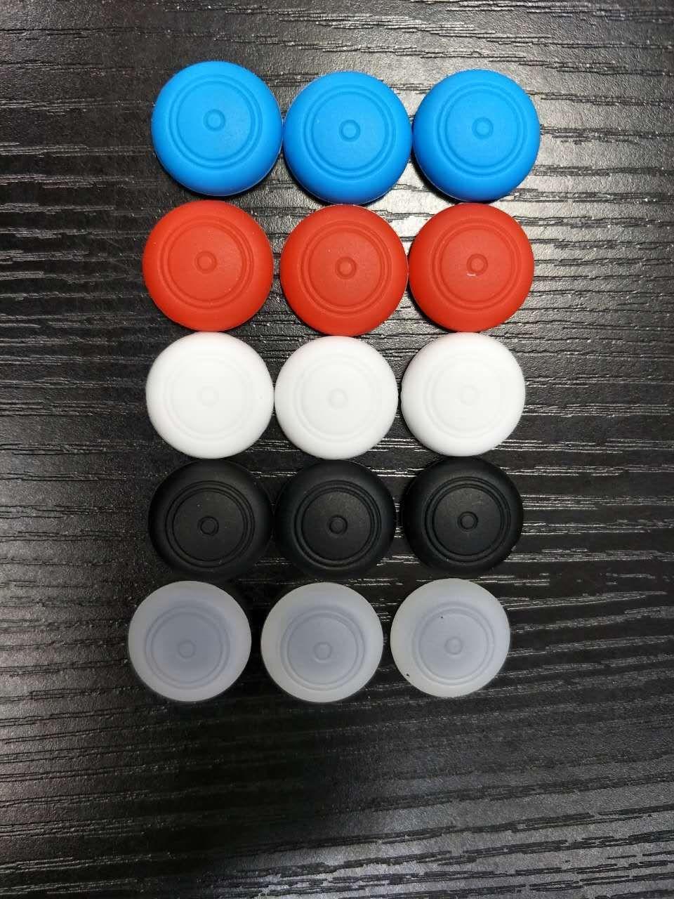 Rubber Silicone Joystick Cap Thumb Stick Joystick Grip Grips Caps For Nintendo switch NS NX Controller