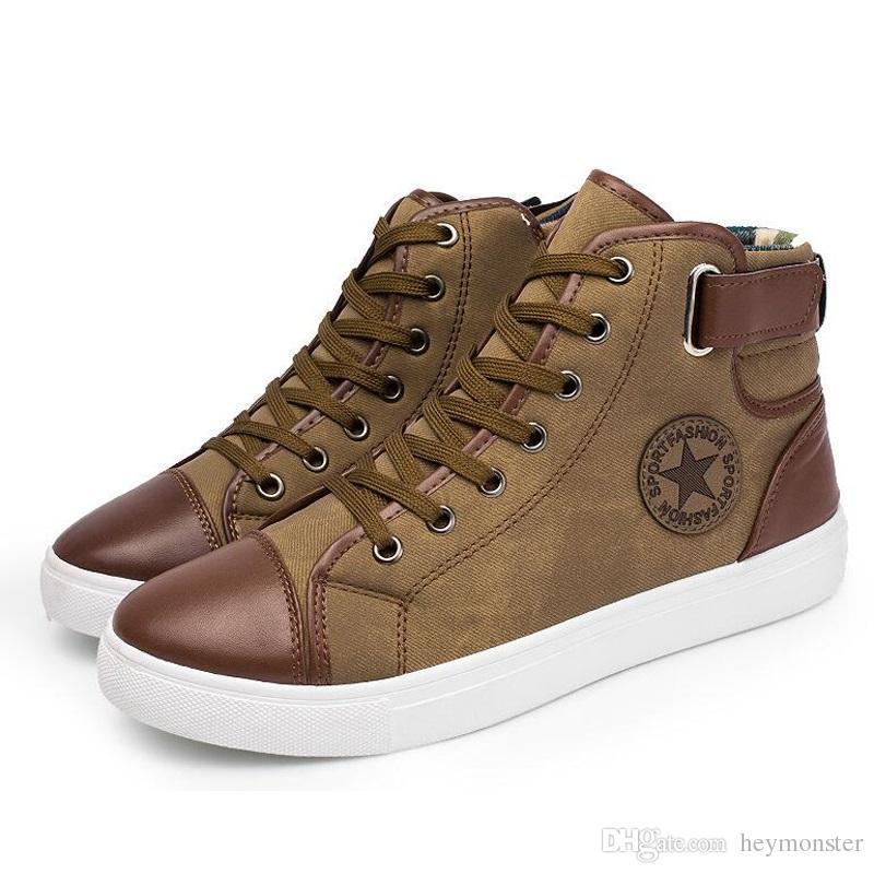 da2e547a9c4 Compre Tamaño Grande 11 Botas De Nieve Para Hombre De Cuero Genuino Botines  De Invierno Manténgase Abrigado Botas Calzado De Moda Zapatos Con Cordones  Para ...