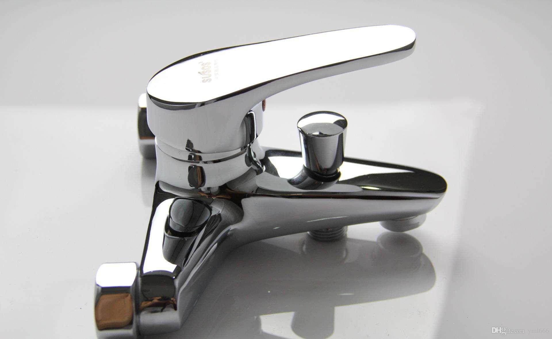 2018 Mg Mejue Z 1304 Copper Three Faucet Bathtub Shower Head Hot ...