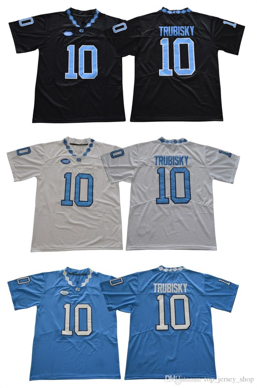 2061c5897ac 2019 Men Tar Heels #10 Mitch Trubisky Black Blue White Stitched North  Carolina College Football Jerseys Cheap From Top_jersey_shop, $23.15 |  DHgate.Com