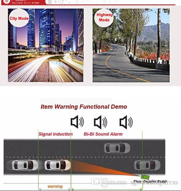 G Car Trucker Speed V3 Laser Radar Detector Voice Alert Warning 16 Band Auto 360 Degrees Alarm Security Speed Control Detector