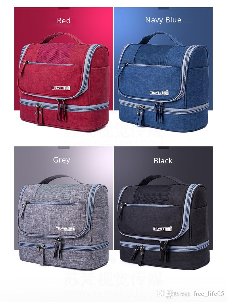 e209728b16 2019 Designer Hanging Toiletry Bag Travel Cosmetics Bag Waterproof Oxford  Organizer For Travel Accessories Toiletry Kit For Men Women From  Free life05