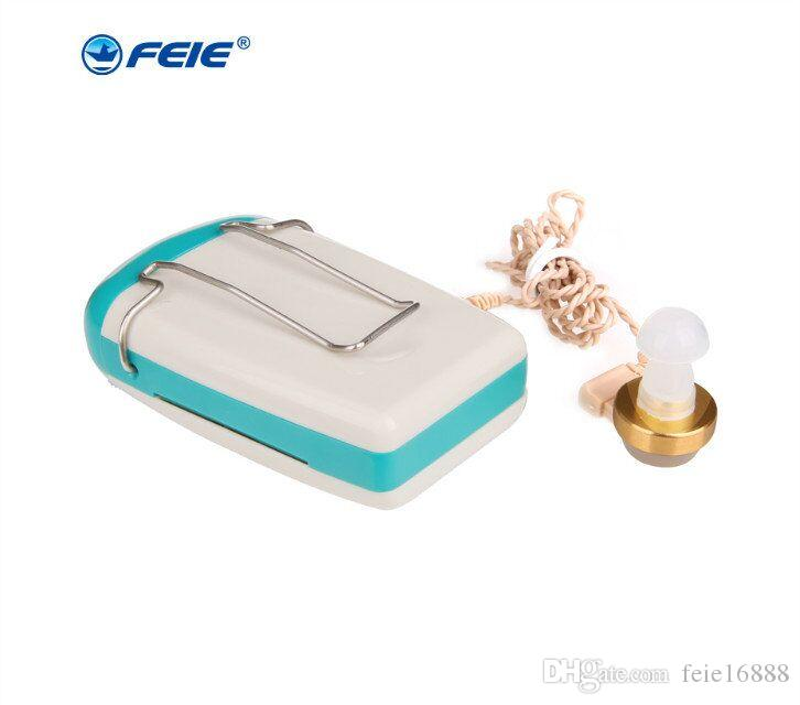 2018 new item hearing aid Hot Sale Portable Small inner Ear Invisible Best Sound Amplifier Mini Digital hearing Aids S-93