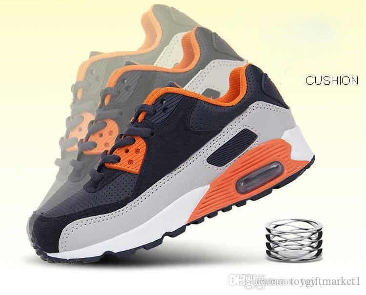 2bd569f86d8bb Acheter Vente Chaude Marque Enfants Casual Sport Chaussures Garçons Et  Filles Sneakers Chaussures De Course Pour Enfants Pour Enfants De  19.28 Du  ...