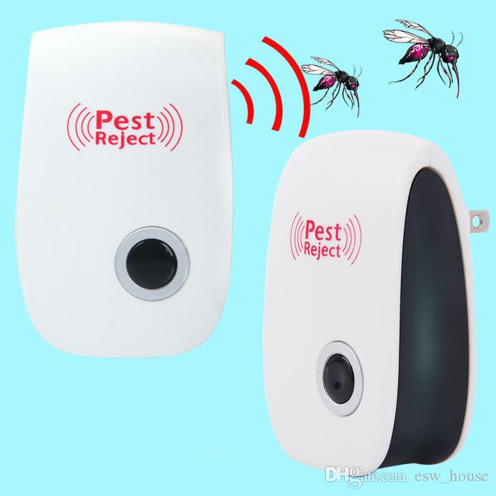 NEW Mosquito Killer Pest Reject Electronic Multi-Purpose Ultrasonic Pest Repeller Reject Rat Mouse Repellent Anti Rodent Bug Reject Safe