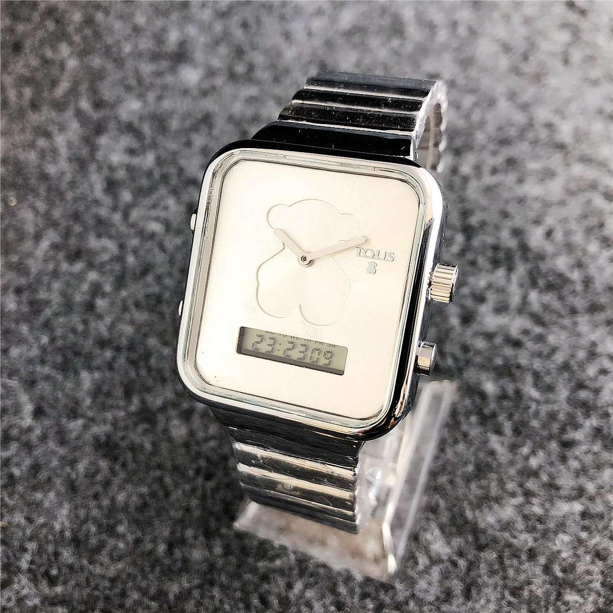 Compre 2018 Moda Reloj De Lujo De Las Mujeres Correa De Acero Inoxidable  Digital A Prueba De Agua Para Damas Negocios 2de8c5f0c00c