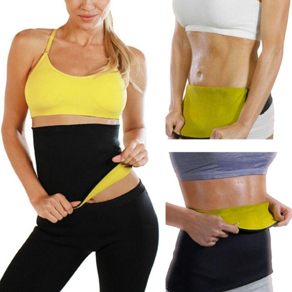 69da920ec0afa 2019 Hot Neoprene Body Shaper Fitness Waist Suppor Trainer Lose Weight  Control Slip Shapewear Women Slimming Belt Modeling Strap From Hineinei