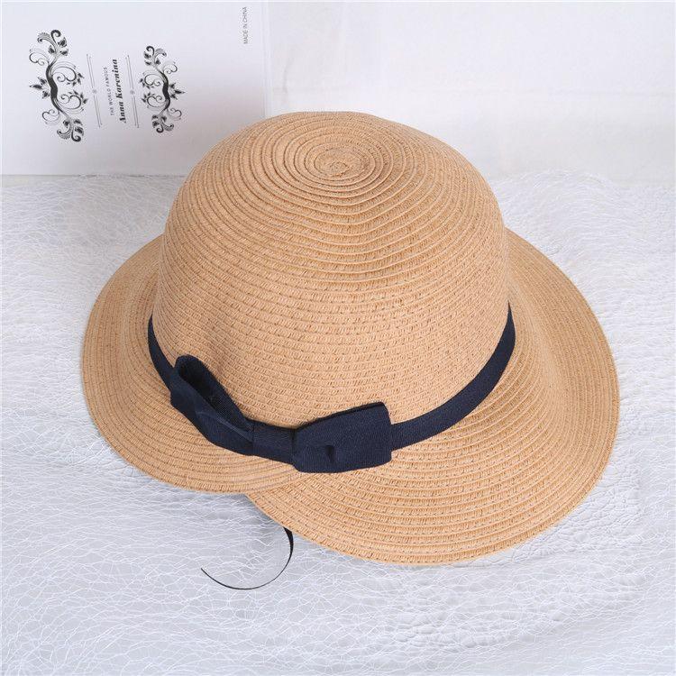 ffc4f60da683fd Hat Women Summer Adult Casual Straw Hat Girl Stetson Straw Surf Sun Beach  For Ladies Japanese Bucket Chapeau 2018 Cheap Hats Kids Hats From Gocan, ...