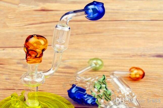 Small skull bone filtering pot luck ,Wholesale Bongs Oil Burner Glass Pipes Water Pipes Glass Pipe Oil Rigs Smoking