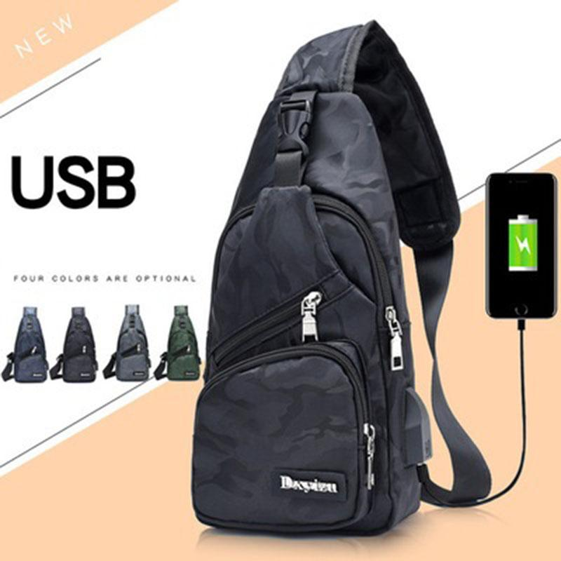 New Sling Backpack Bag Man Chest Pack Men Sling Strap Bags Casual Travel  Fanny Flap Male Small Retro One Shoulder Crossbody Bag Travel Backpacks  Small ... 1912f018a8663