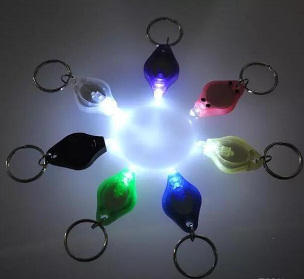Mini Torch Key Chain Ring PK Keyring White LED Lights,UV LED Light, LED Bulbs,ton II Photon 2 Micro Light Keychain Flashlight