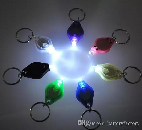 Porte-clés mini-torche PK Porte-clés Lumières LED blanches, lampe à LED UV, ampoules à LED, lampe de poche ton II Photon 2 Micro Light