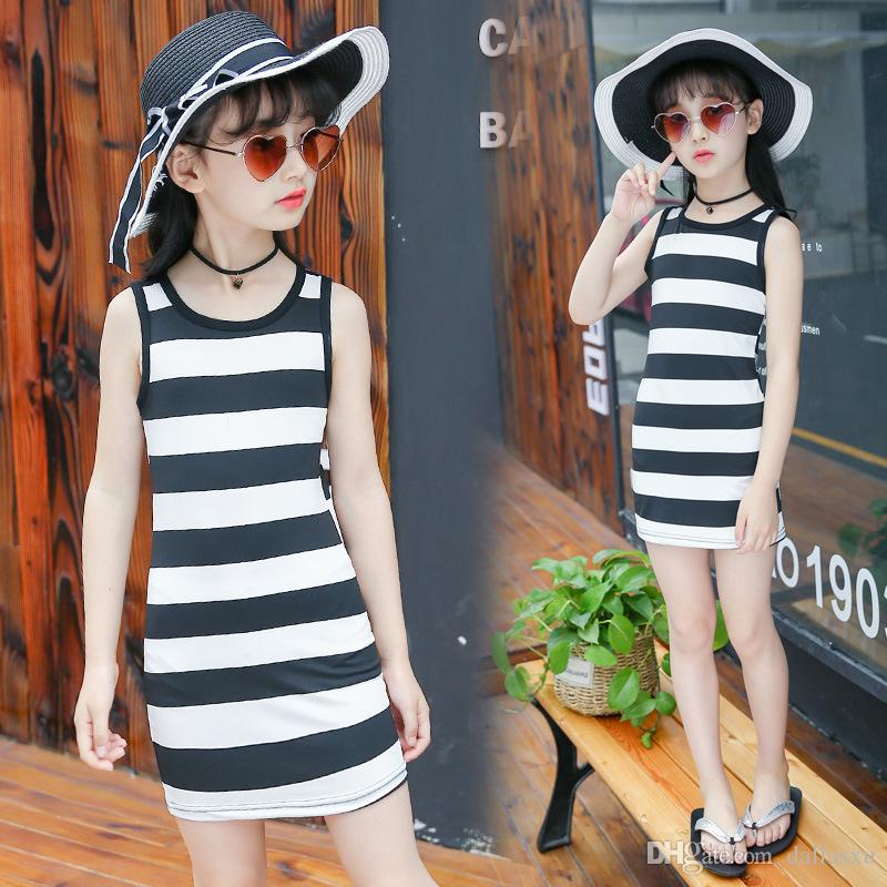 782c173465f7 Hot Sale 3 4 5 6 8 10 11 12 Years Girls Summer Baby Casual Style ...