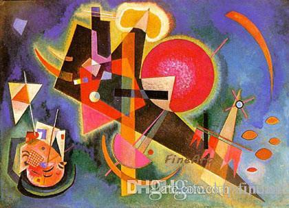 handmade Wassily Kandinsky famous artist painting reproduction canvas paintings art deco oil paintings beautiful unique gifts
