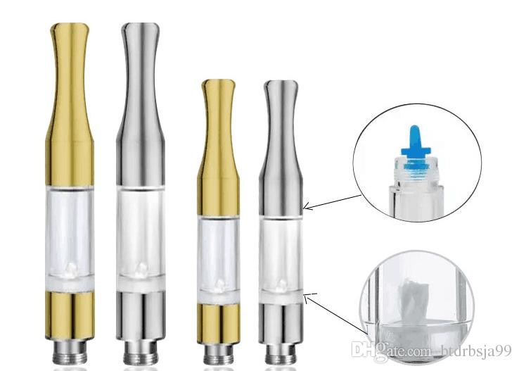 Top G2 BUD Touch 510 Cartridges Tank gold stainless steel drip tips WAX Thick Oil Vaporizer Atomizers CE3 O Pen vapor Mini cartomizers vape
