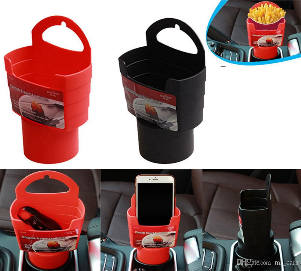 Universal Car Truck Cup Holder French Fries Drink Beverage Seat ...