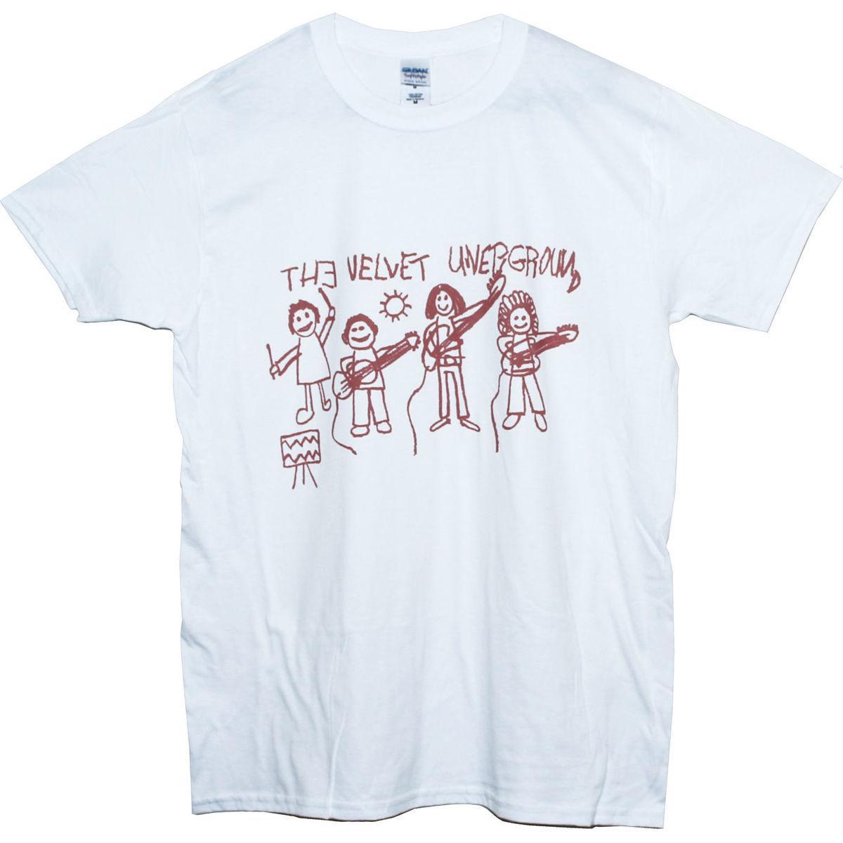 THE VELVET UNDERGROUND T SHIRT Art Garage Punk Rock Band Graphic Tee  Men Women Shirts Cool Crazy Design Shirts From Luckytomorrow e6eadd60d44