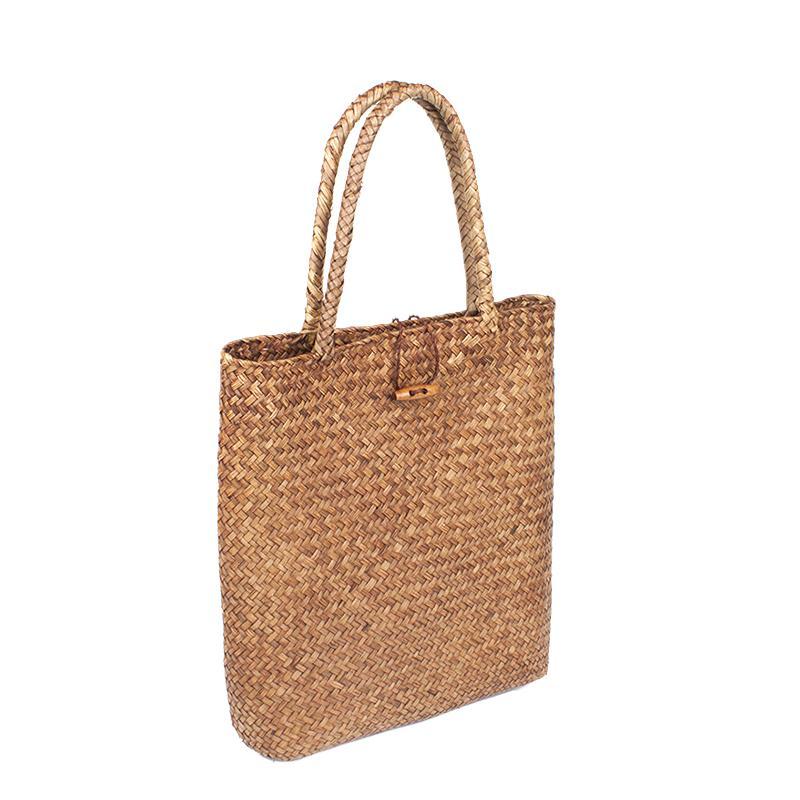 ARPIMALA 2018 Beach Bag for Summer Big Straw Bags Handmade Woven Tote Women Travel Handbags Luxury Designer Shopping Hand Bags