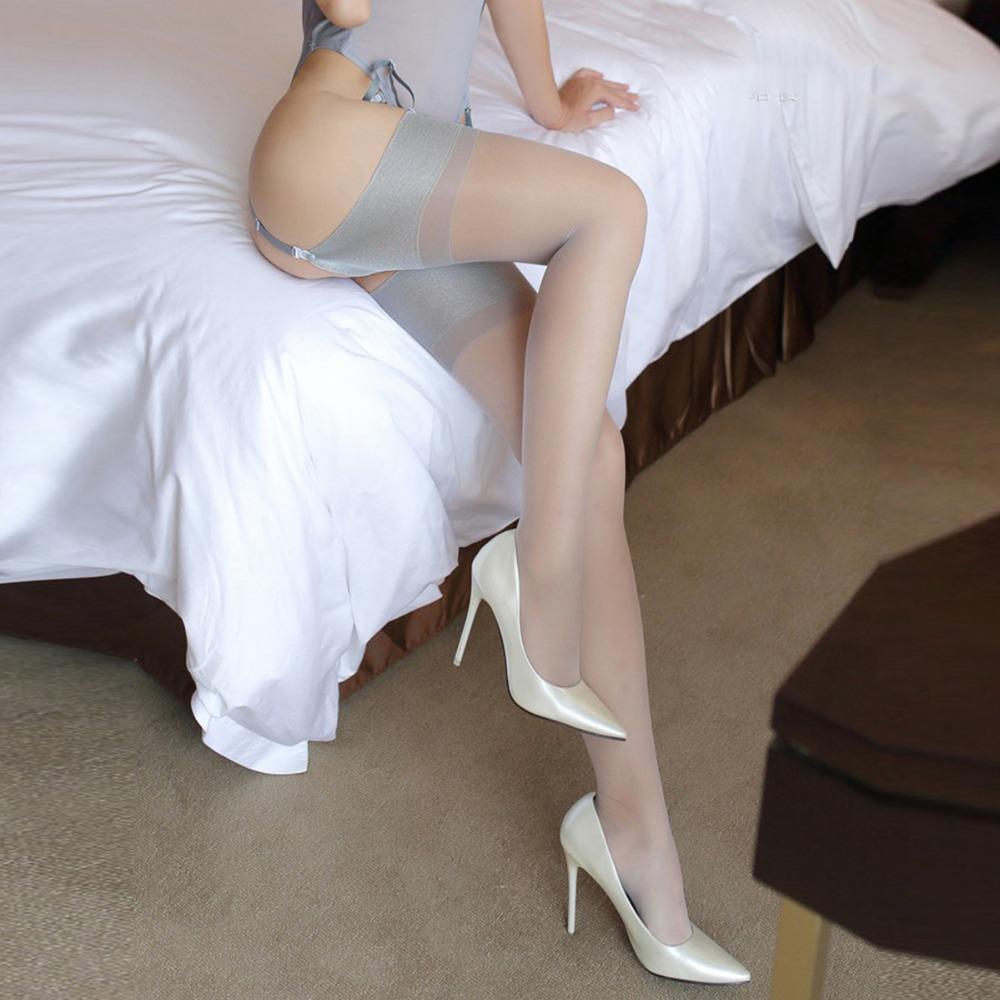 Skinny Blonde Teen High Heels