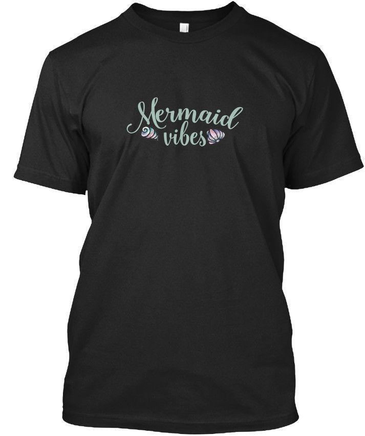 One-of-a-kind Mermaid Vibes Standard Unisex T-Shirt