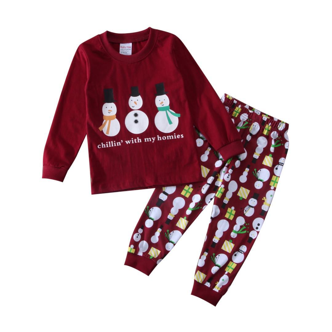 christmas newborn toddler kids baby girl boy pajamas sleepwear nightwear clothes pajamas for kids on sale winter pajamas for girls from jasmineer