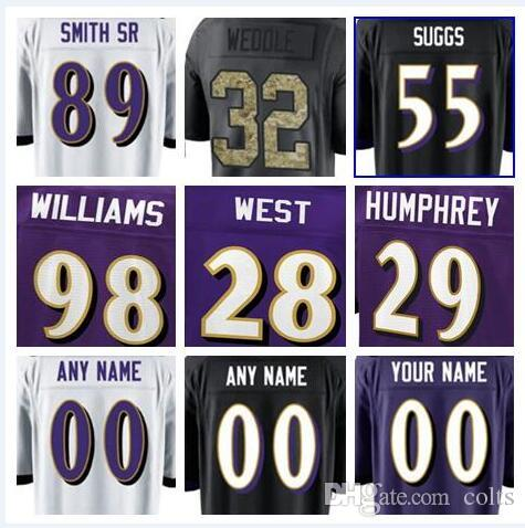 2018 2018 Baltimore Ray Lewis Jersey Ravens Custom Steve Smith Sr Justin  Tucker Authentic Sports Youth Kids American Football Jerseys 4xl 5xl From  Clemson 7d52fb31b