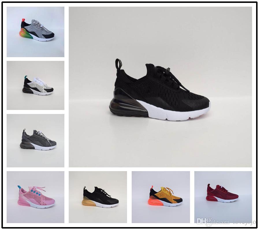 3f1ffa29a0aa4 Купить Оптом Nike Air Max Airmax 270 Детский Младенец 270 OG Kids Кроссовки  Cactus 27c Aircushion Outdoor Toddler Athletic 270S Boy Girl Kids Sneaker  Размер ...